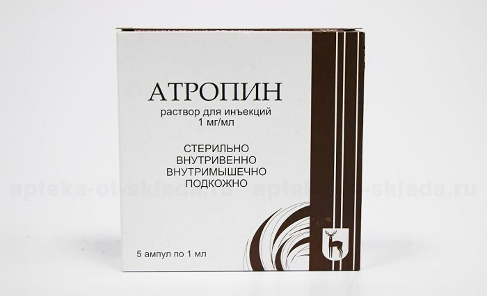 Препарат Атропин для общего наркоза